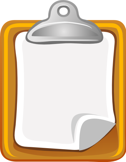 Clipboard    Office Supplies Paper Clipboard Png Html