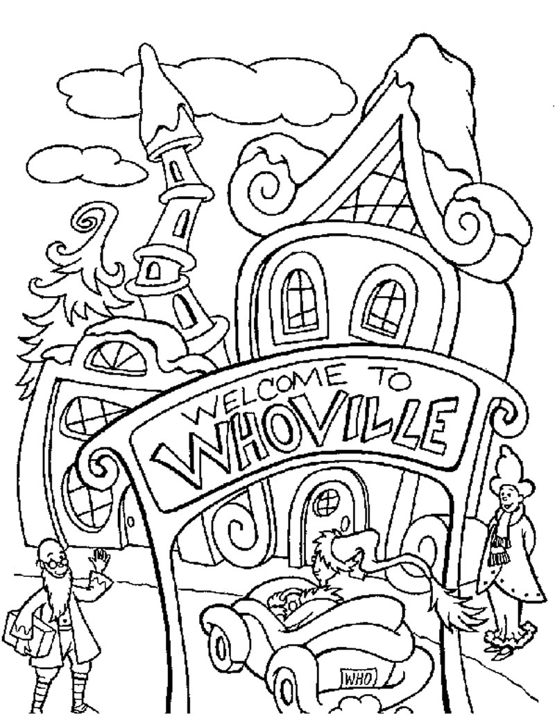 baby grinch coloring pages - photo #43