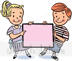 Kids Pink Sign Clipart   Mother S Day Clipart