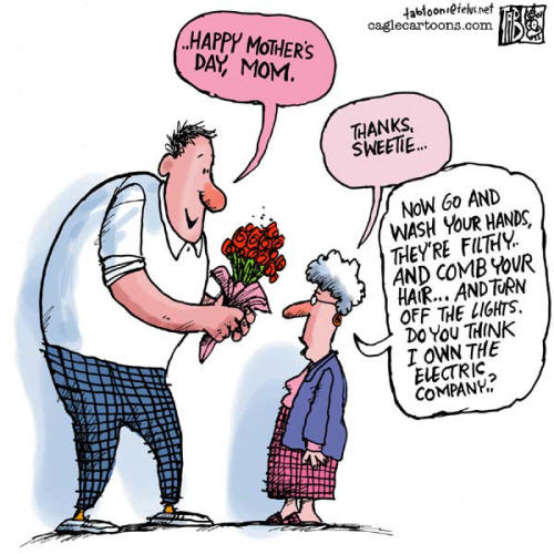 The English Blog  Mother S Day Cartoon