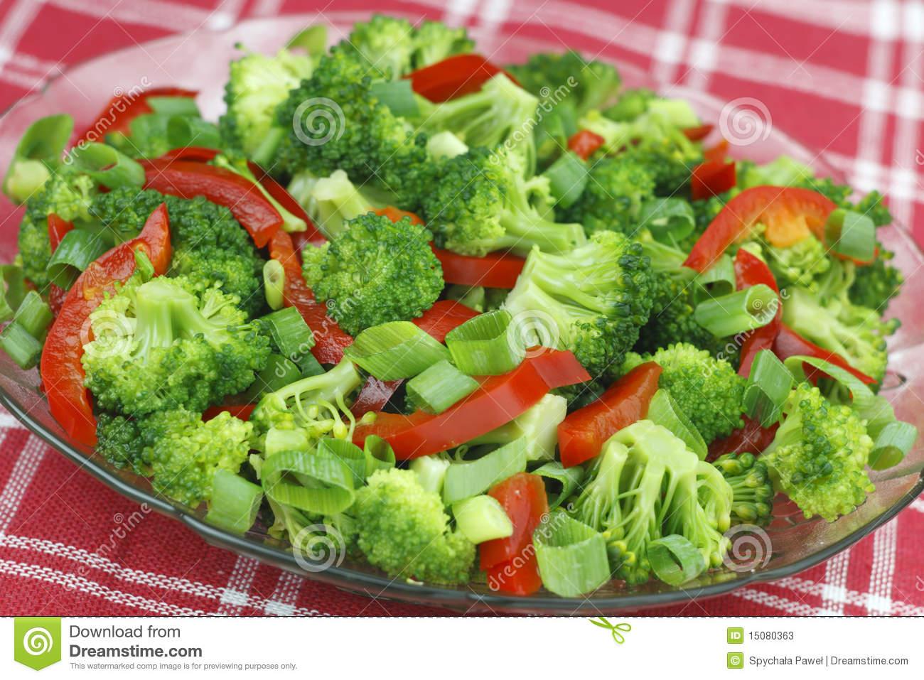 Капуста брокколи рецепты приготовления салата