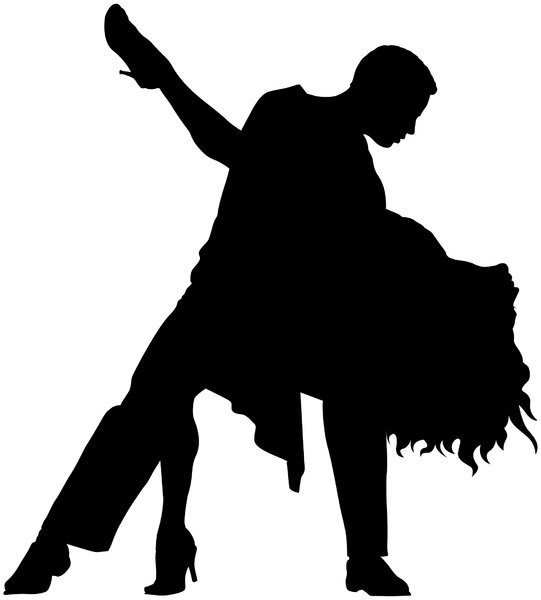 Dancers Silhouette   Free Stock Photos   Rgbstock  Free Stock Images