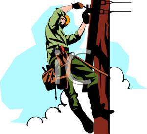 Electric Pole Clipart