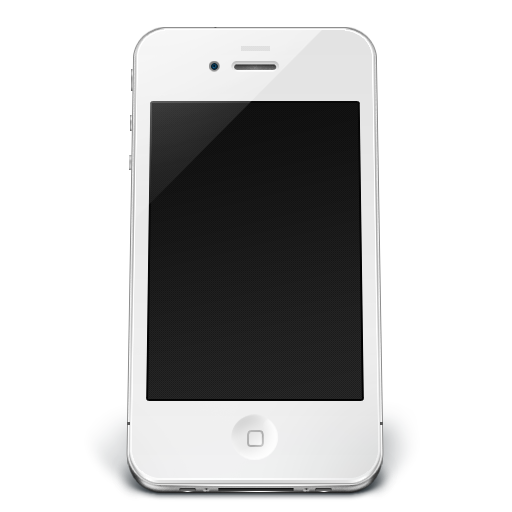 Iphone White Off Icon   Iphone 4 Iconset   Musett Com