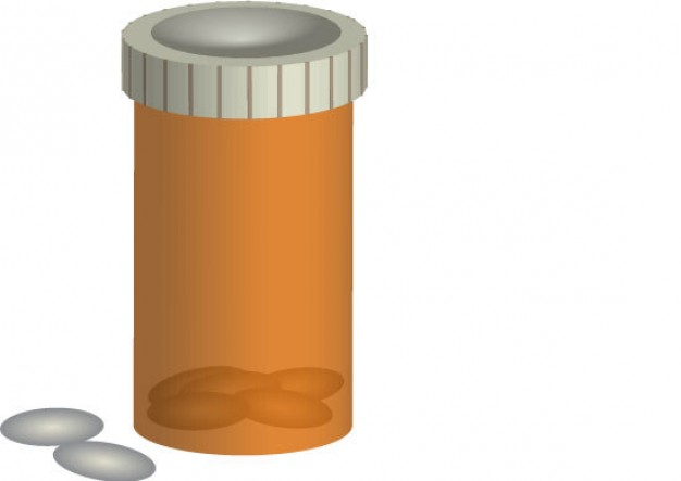 Prescription Drug Bottle Clipart - Clipart Suggest