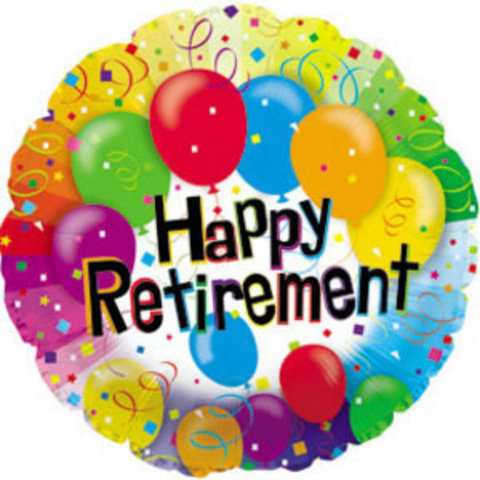 18 Inch Happy Retirement Balloons Ct001