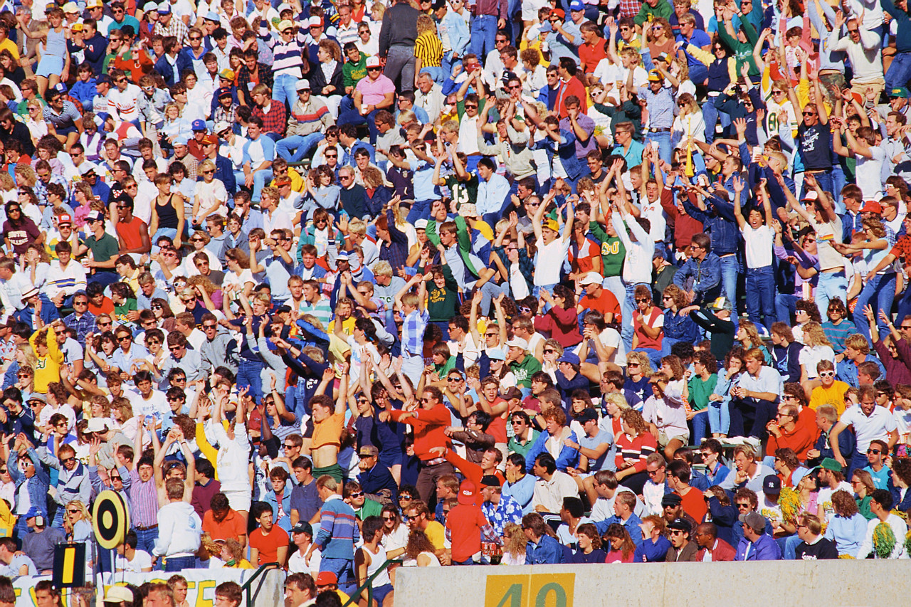 Image Gallery sports crowd