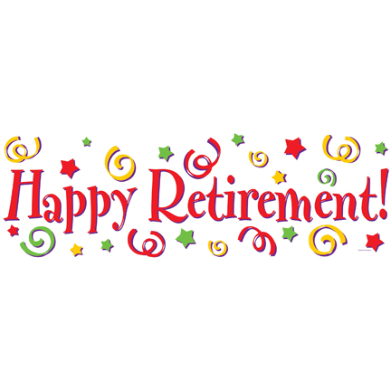Happy Retirement   A Party Celebration  The One Stop Shop For All