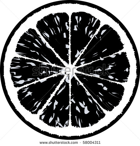 Lemonade Clipart Black And White Lemon Vector Illustration