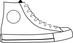 Converse Shoes Clipart - Clipart Kid