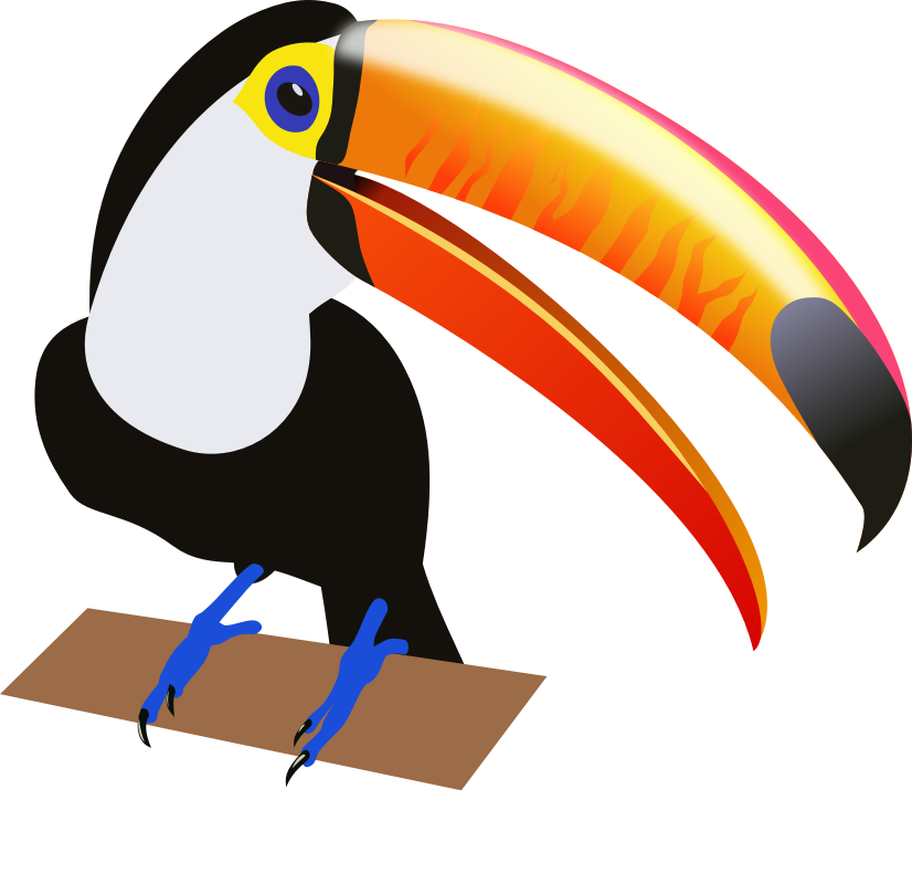 Toucan Clipart - Clipart Kid