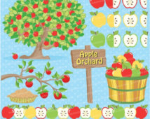 80  Off Apple Clipart Apple Clip A Rt Apple Orchard Clipart Apple