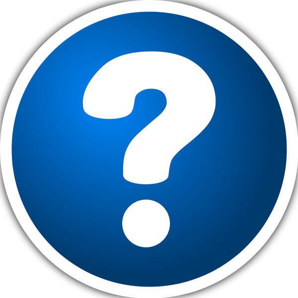 Blue Question Mark Clipart Purzen Icon With Question Mark Clip Art Png
