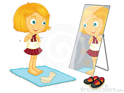 Clip Art Getting Dressed Clipart girl getting dressed clipart kid child dressing stock images image 24456504