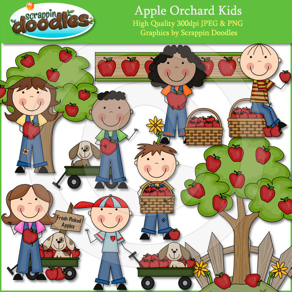 Clipart Apple Orchard Picture
