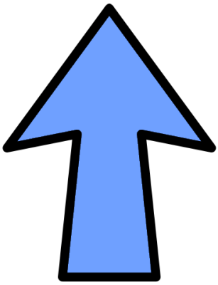 Cute Blue Arrow Free Cliparts That You Can Download To You Computer