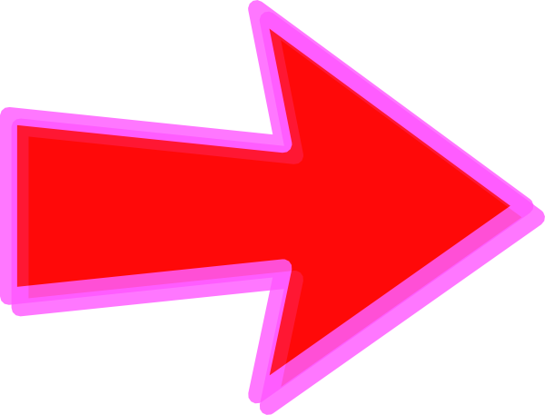 Edited Red Arrow Clip Art At Clker Com   Vector Clip Art Online