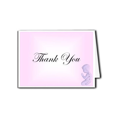 Funeral Programs   Funeral Thank You Templates   Pink Angel