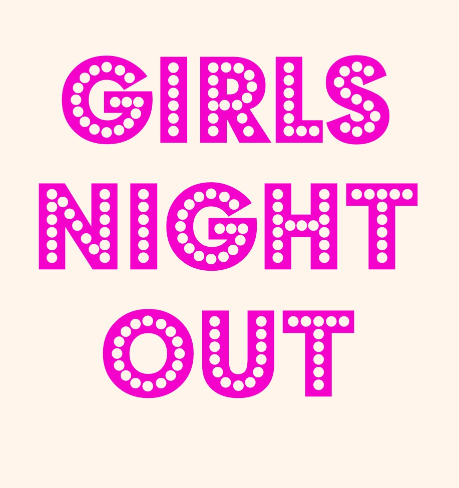 Girls Night In Logo At Spac S Girls Night Out