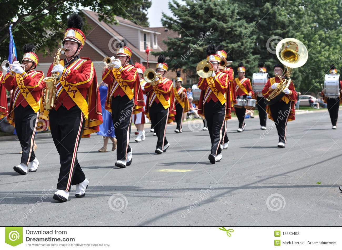 High School Marching Band Clipart High School Marching Band