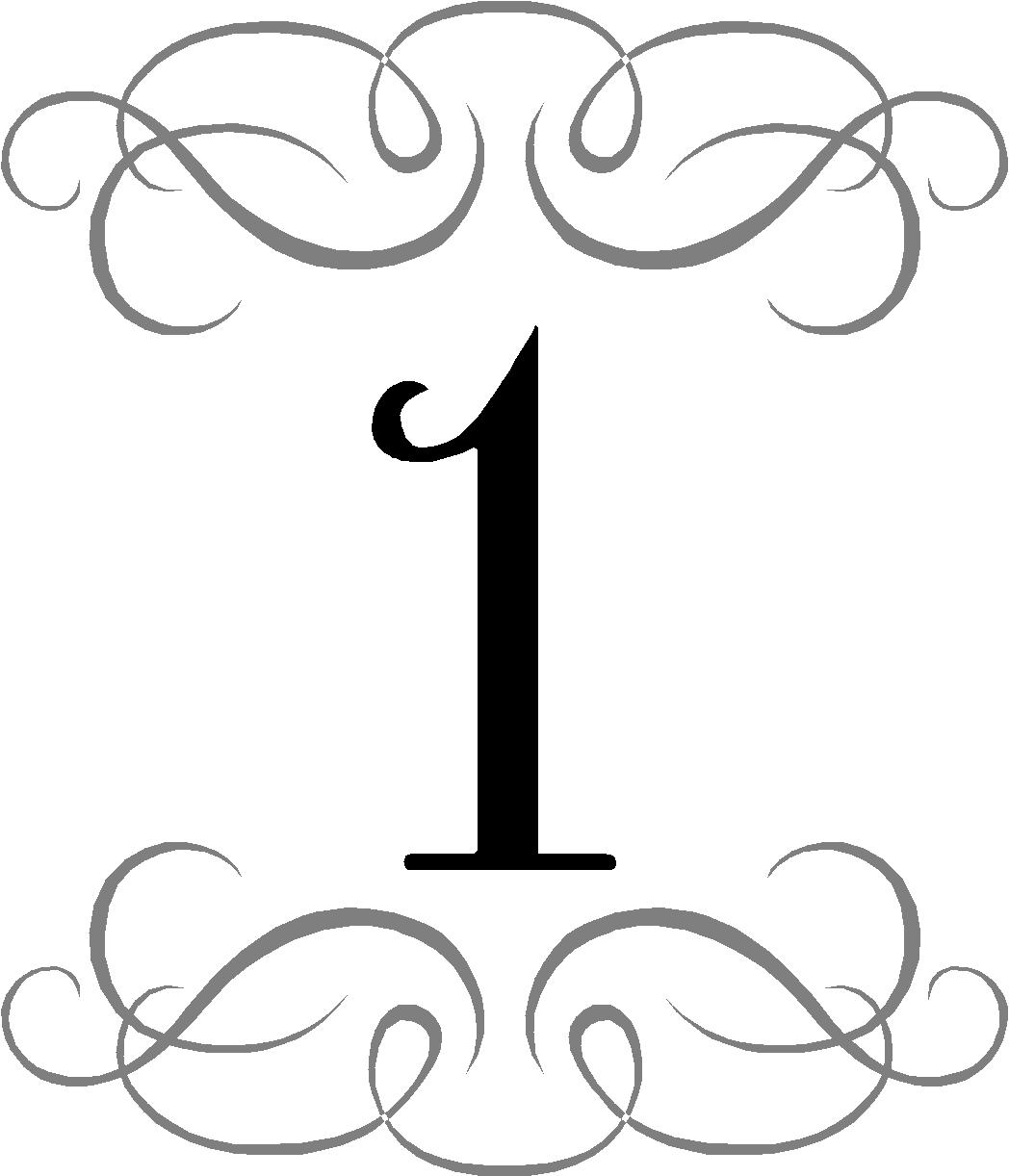 Number One Clipart Clipart Panda Free Clipart Images