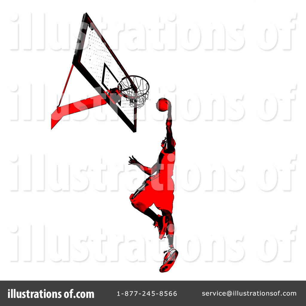 Royalty Free Rf Basketball Player Clipart Illustration 1059320 By