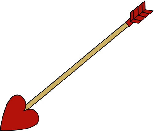 Valentine S Day Arrow Valentine S Day Arrow With A Red Heart Shaped