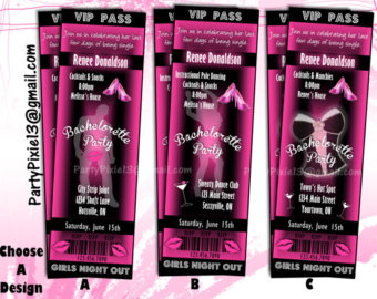 With Your Party Details  Ladies Night Out  Girls Weekend  Strippers