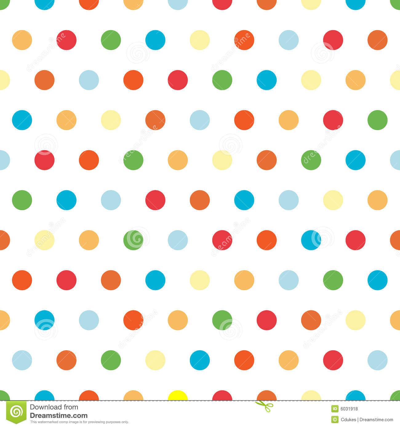 Bright Polka Dots Background Royalty Free Stock Photos   Image
