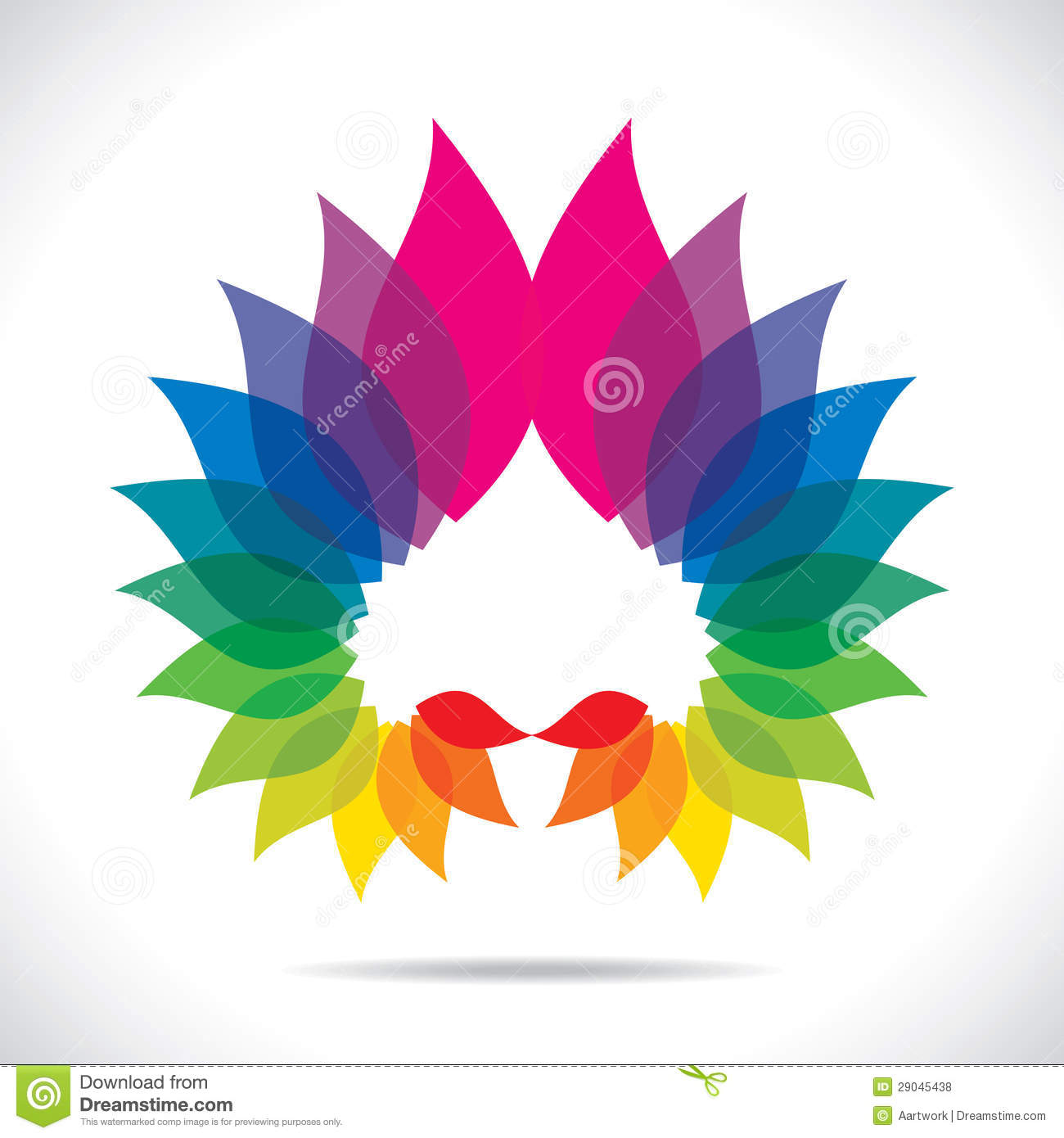 Colorful Lead Design Icon Royalty Free Stock Photos   Image  29045438