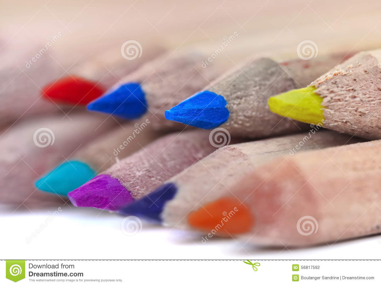 Colorful Pencil Leads