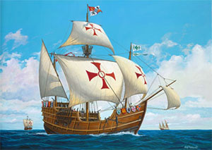 Christopher Columbus Ships Clipart - Clipart Kid