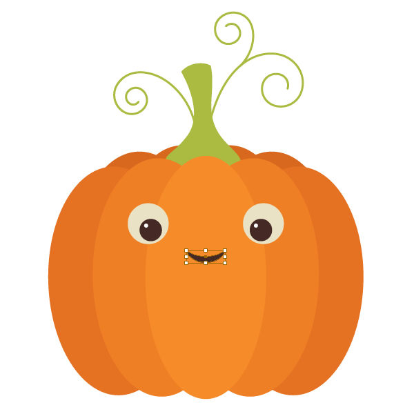 Pumpkin row clipart clipart suggest for Funny pumpkin drawings
