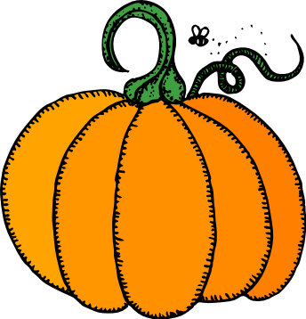 Free Clipart Of Pumpkin Patch Clipart Picture Of A Perfect Uncarved