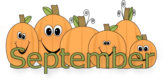 Month Of September Clipart The Month Of September