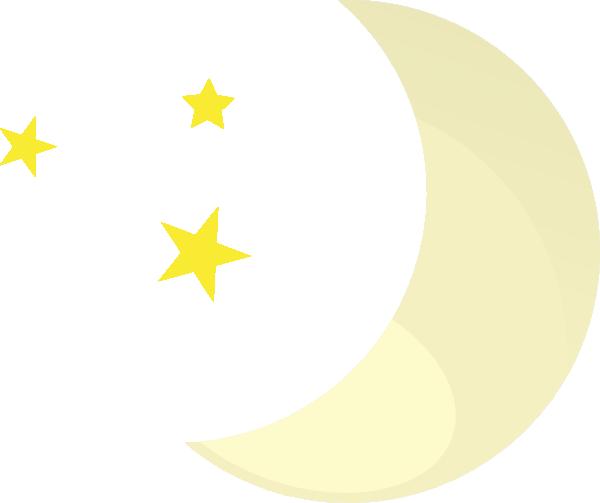 Cute Moon Clipart - Clipart Kid