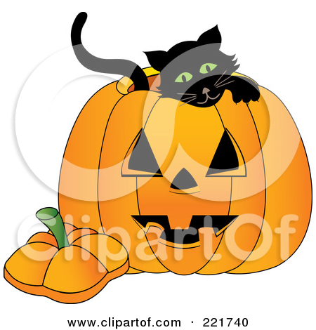 Royalty Free  Rf  Clipart Illustration Of A Sitting Yellow Eyed Long