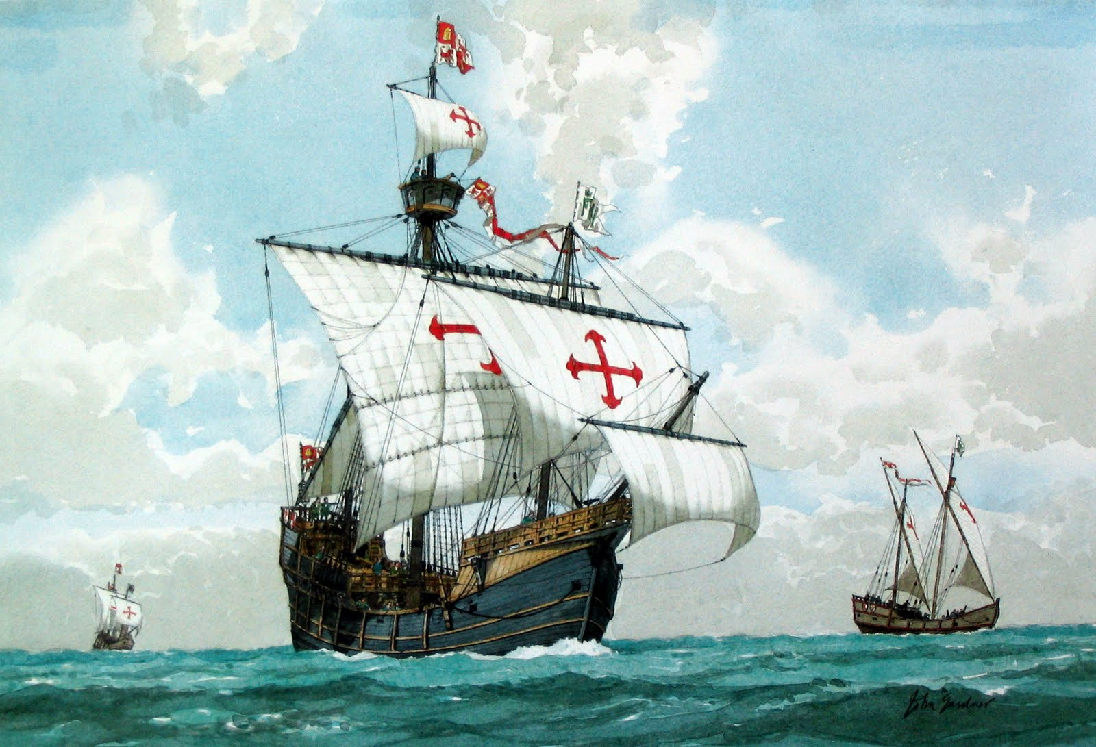 an analysis of christopher columbus who landed on the shores of the caribbean in 1492