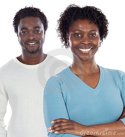 African American Couple Royalty Free Stock Photography   Image