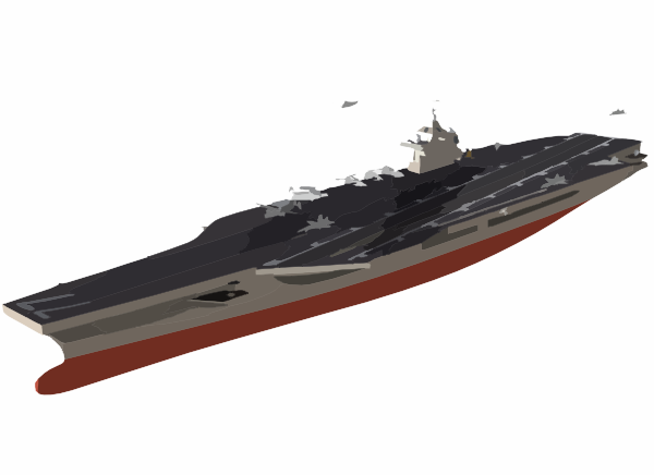 Artist S Conceptual Drawing Of The U S  Navy S Newest Aircraft Carrier