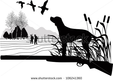 Hunting And Fishing Border Clipart - Clipart Kid