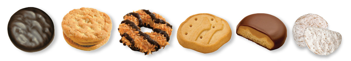 Girl Scout Cookies Types 2013