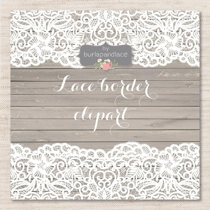 Wedding Lace Clipart