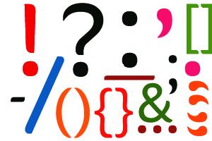 Картинки по запросу punctuation