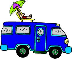 Rv Camping Cartoon Clipart - Clipart Suggest