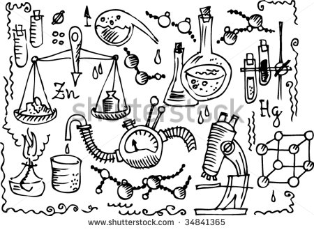 Science Lab Clipart Black And White Scientific Lab  Eau Forte Iv