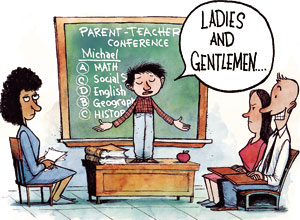 Student Led Parent Teacher Conferences Seem To Be Taking The Nation By