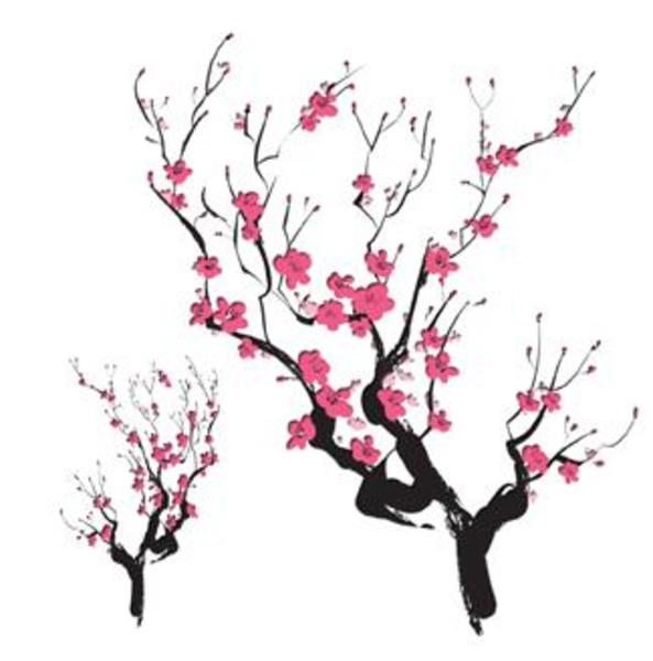 Cherry Blossom Border Clipart - Clipart Kid