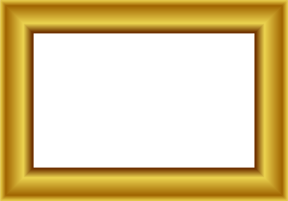 Gold Frame Rectangle 1   Http   Www Wpclipart Com Page Frames More