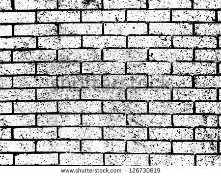 Clip Art Black and White Brick Wall – Cliparts